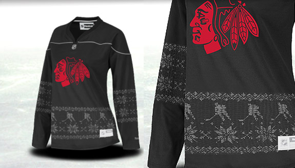 Pass or Fail: Reebok's Fair Isle NHL jerseys, for the ladies