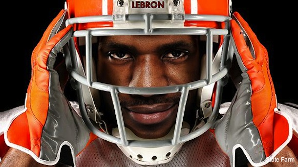 LeBron causes stir on Twitter after asking about NFL free agency