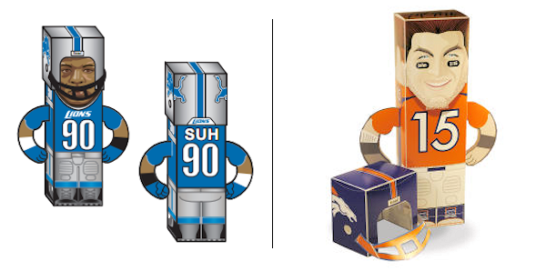 Build your own paper Ndamukong Suh or Tim Tebow
