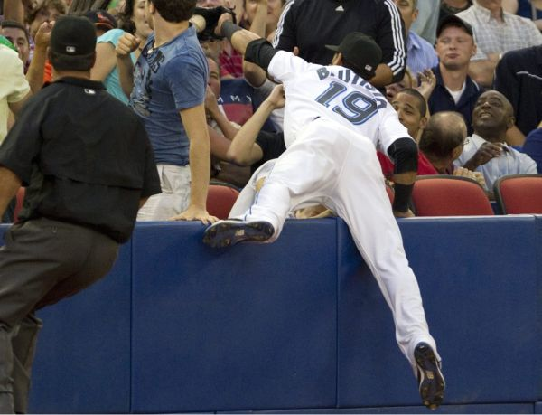 Shuffle Up: Jose Bautista owns the corner, chases the MVP