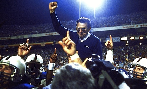 It's official: 'Joe Paterno is no longer the head football coach' at Penn State