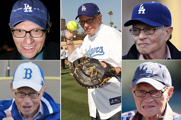 Dodgers fan Larry King joins potential ownership group