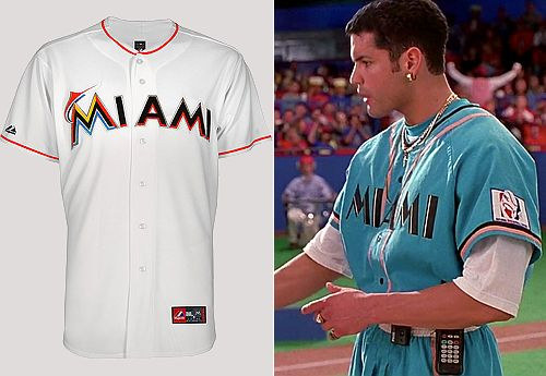 'BASEketball' almost predicted the Marlins uniforms in 1998