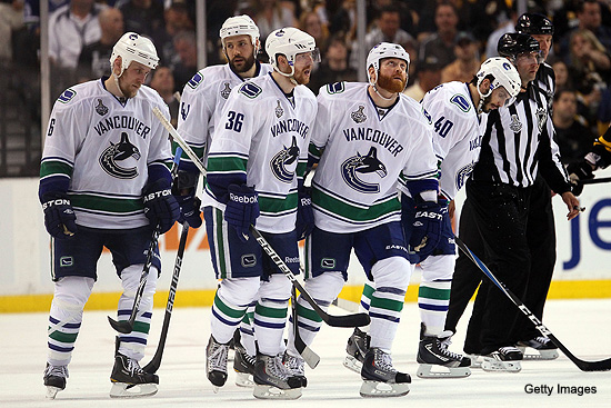 Bourne Blog: Canucks need to take Game 3 and 'flush it'