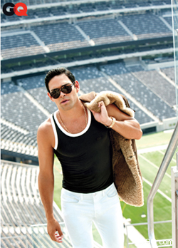 Sanchez's GQ style doesn't pass the Aaron Rodgers test