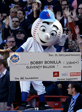 Ten things to do with Mr. Met (if you buy a share of the Mets)