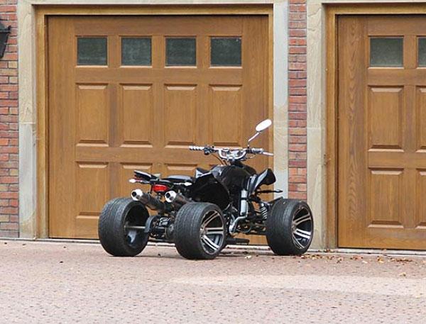 Balotelli quad bike