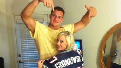 Brady revels in the fact that folks are making fun of Gronkowski