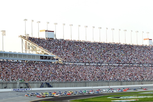 Bruton Smith says up to 20,000 fans didn't make Kentucky race