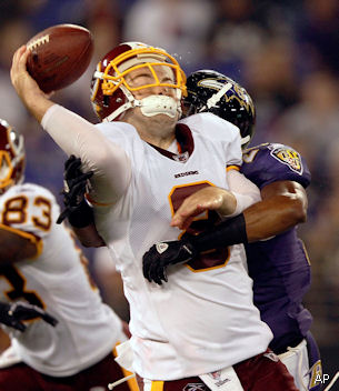 Mike Shanahan orders Rex Grossman and John Beck to fight on