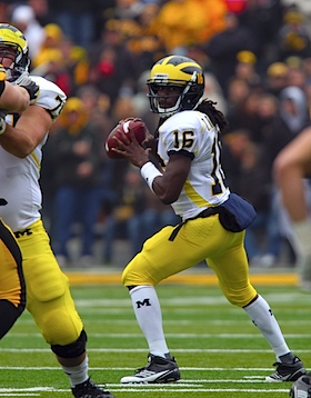 Nine games into its new regime, Michigan is still at the drawing board