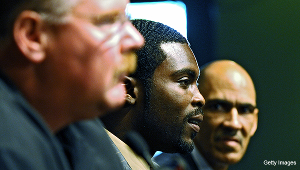 Philadelphia not Vick's first choice — did the NFL push him that way?