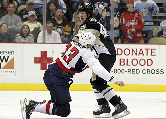 What's the majority opinion on NHL fighting?