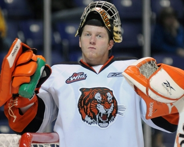 WHL: Tigers' Bunz injured while on bench during Super Series tilt
