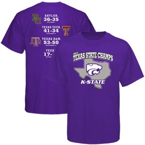Kansas State declares itself 'Texas State Champs'