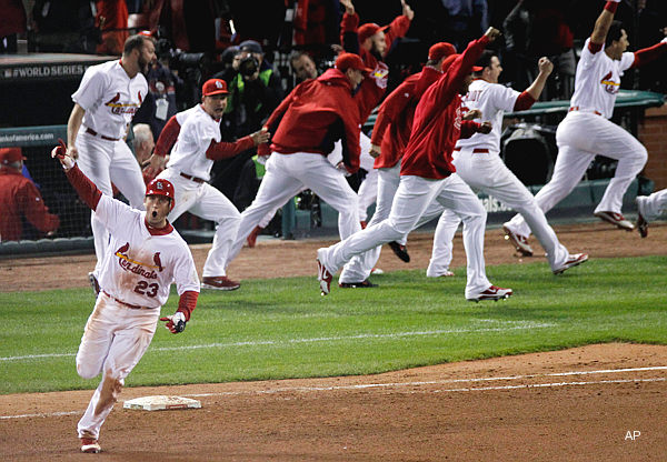 World Series Game 6: Freese puts Rangers on ice, keeps Cards alive