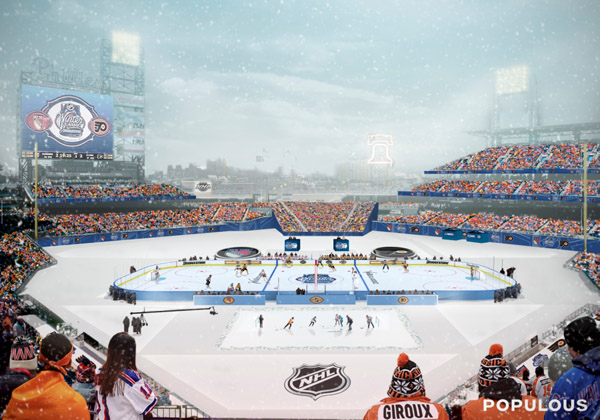 Puck Headlines: Winter Classic rink revealed; Habs owner speaks