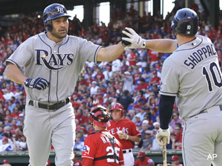 ALDS Game 1: Matt Moore shuts down Texas for a 9-0 Rays win