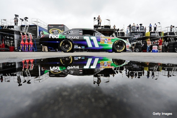 Denny Hamlin&#8217;s Chase chances go kaput at Loudon