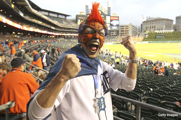 Fashion Ump: Detroit's DIY Cabrera and Verlander masks