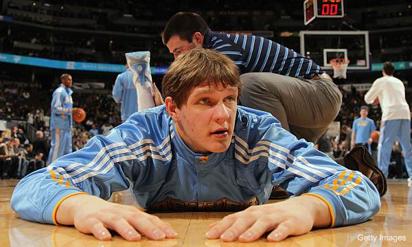 Timofey Mozgov is heading back to Russia