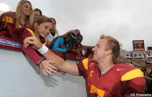 Matt Barkley tries to keep USC's sanctions in perspective