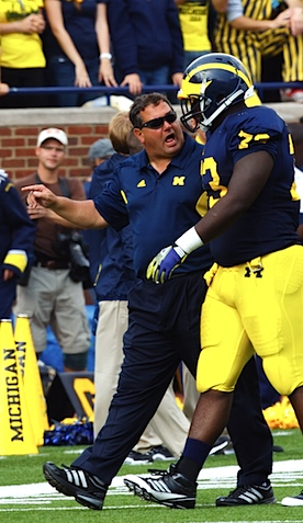 Attention Wolverines: All your non-Michigan hats belong to Brady Hoke