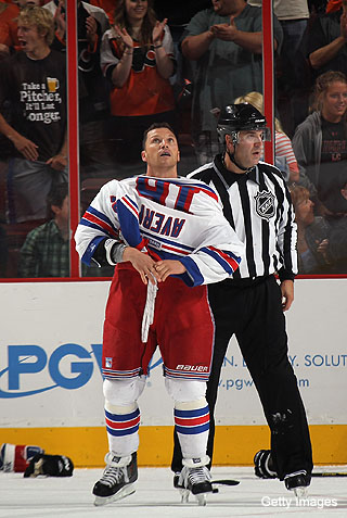 Will Sean Avery survive final New York Rangers' cuts?