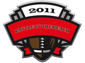 Battle by the Beach 7-on-7 logo