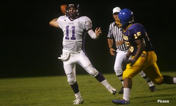 Broughton quarterback Will Cooper