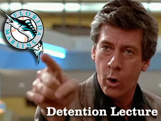 Detention Lecture: Your 2011 Florida Marlins