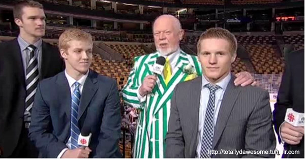 Landeskog's NHL Draft Diary: Touched by the hand of Don Cherry