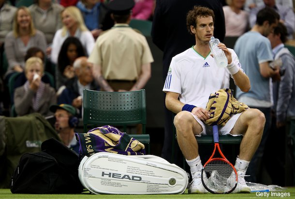 What?s written on Andy Murray?s Wimbledon bag?