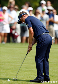 Luke Donald's incredible three-putt streak comes to a close