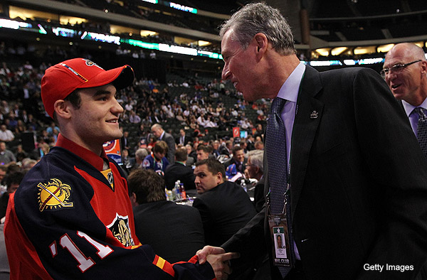 Panthers pick Rocco Grimaldi's leap of faith at NHL Entry Draft