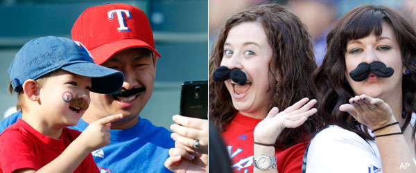 Mr. Holland's mustache draws mixed reviews after Game 2 start