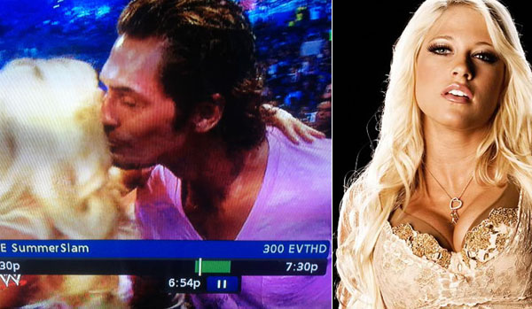 Sheldon Souray makes SummerSlam debut vs. Kelly Kelly's lips