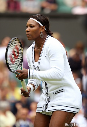 Photos: Serena Williams' classy Wimbledon look