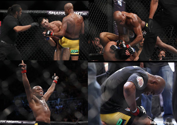 Anderson Silva toys with another top fighter, destroys Yushin Okami at UFC 134
