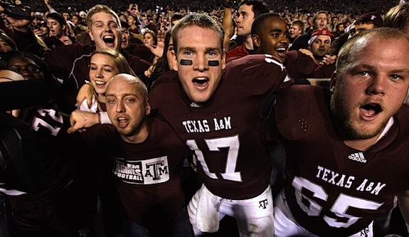 QB Focus: Ryan Tannehill, Texas A&M's man of the hour