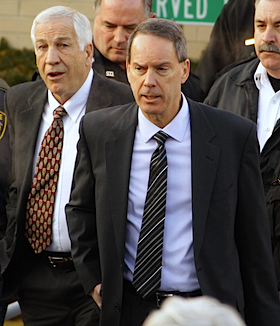 Jerry Sandusky's lawyer suggests calling a gay sex line to prove Sandusky's innocence