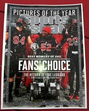 Eric LeGrand graces Sports Illustrated's final 2011 cover