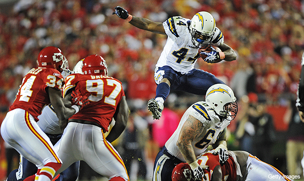 Chargers' Curtis Brinkley is a survivor in more ways than one