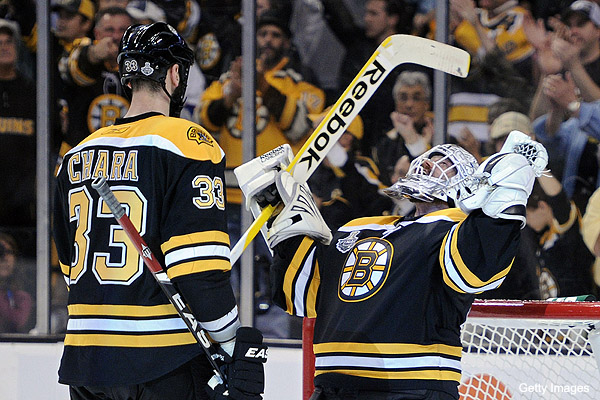 Bruins cautiously excited for Game 7 challenge in Vancouver