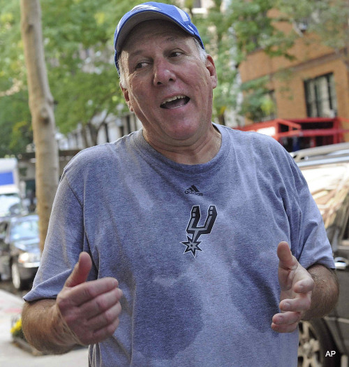 Create-a-Caption: Don't sweat Gregg Popovich's lockout technique
