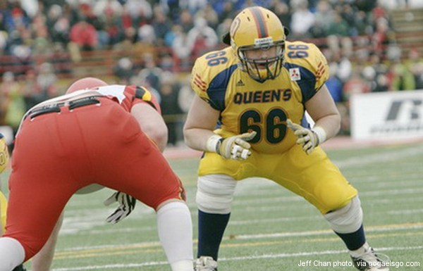 Matt O'Donnell works out for Raptors, but is NFL his goal?