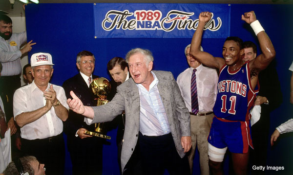 Seventeen memorable NBA championship celebrations
