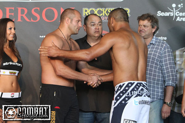 Strikeforce picks, Vegas-style: Fedor still a huge favorite over Hendo