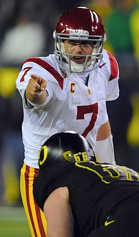 Suddenly surging, USC braces for the last temptation of Matt Barkley