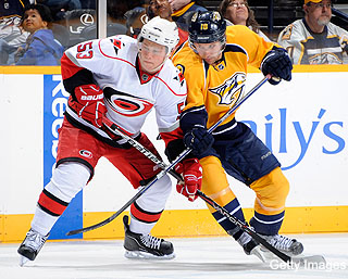Puck Daddy chats with Carolina Hurricanes' Jeff Skinner about his sophomore season, his first NHL fight and 'Skinnermania'